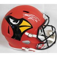 Kenyan Drake Arizona Cardinals Signed Full Size Rep AMP Helmet BAS Authenticated