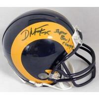 D'Marco Farr St. Louis Rams Signed Mini Helmet JSA Authenticated