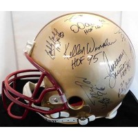 NFL Hall Of Famers & Stars Signed Authentic Helmet 19 Players JSA Authenticated