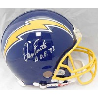 Dan Fouts San Diego Chargers Signed Full Size Authentic Helmet JSA Authenticated