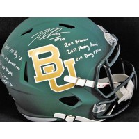 Robert Griffin III RG3 Baylor Bears Signed Replica Full Size Helmet TRISTAR Auth