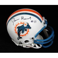 Damon Huard Miami Dolphins Signed Mini Helmet JSA Authenticated