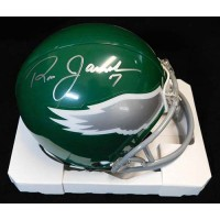 Ron Jaworski Philadelphia Eagles Signed Replica Mini Helmet JSA Auth.