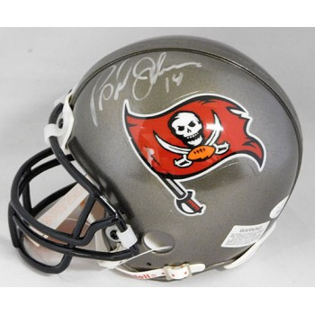 Brad Johnson Tampa Bay Buccaneers Signed NFL Mini Helmet JSA Authenticated