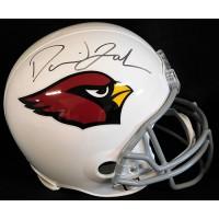 David Johnson Arizona Cardinals Signed Full Size Replica Helmet JSA Authentic