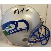 Steve Largent Seattle Seahawks Signed Full Size Authentic Helmet PSA Authentic