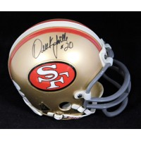 Derek Loville San Francisco 49ers Signed Mini Helmet JSA Authenticated