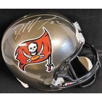 Doug Martin Tampa Bay Buccaneers Signed Full Size Replica Helmet Leaf Authentic