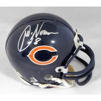 Cade McNown Chicago Bears Signed Mini Helmet JSA Authenticated