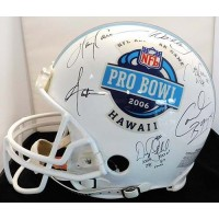 NFL Hall Of Famers and Stars Signed 2006 Pro Bowl Helmet By 11 JSA Authenticated