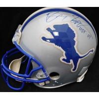 Barry Sanders Detroit Lions Signed Full Size Authentic Helmet JSA Authenticated