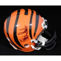 Akili Smith Cincinnati Bengals Signed Mini Helmet JSA Authenticated