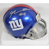 Nikita Whitlock New York Giants Signed Mini Helmet Steiner & Fanatics Authentic
