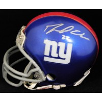 David Wilson New York Giants Signed Mini Helmet JSA Authenticated