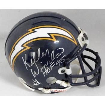 Kellen Winslow San Diego Chargers Signed Authentic Mini Helmet JSA Authenticated