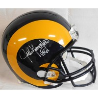 Jack Youngblood LA Rams Signed Full Size Replica Helmet JSA Authenticated