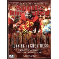 Marcus Allen Signed Sports Illustrated Magazine USC Trojans Running To Greatness GAI