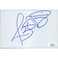 Jerome Bettis Pittsburgh Steelers Signed 4x6 Index Card JSA Authenticated