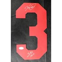 Ricky Ervins Washington Redskins Signed Jersey Number JSA Authenticated