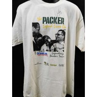 Chris Jacke Green Bay Packers Signed Packer Shirt Photo JSA Authenticated