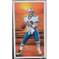 Dan Marino Miami Dolphins Signed LE Danny Day Lithograph Giclee JSA Authentic