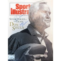 Don Shula Miami Dolphins Signed Sports Illustrated Magazine JSA Authenticated