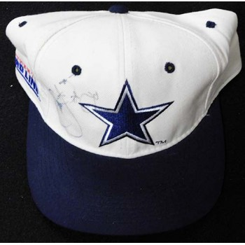 Emmitt Smith Dallas Cowboys Signed NFL Pro Line Hat JSA Authenticated