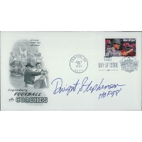 Dwight Stephenson Football Signed First Day Issue Cover FDC JSA Authenticated