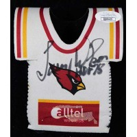 Larry Wilson St. Louis Cardinals Signed Beverage Koozie JSA Authenticated