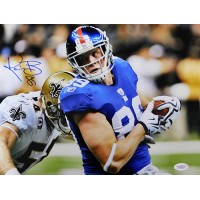 Kevin Boss New York Giants Signed NFL Matte 11x14 Photo JSA Authenticated