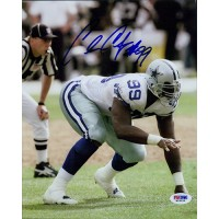 Chris Canty Dallas Cowboys Signed 8x10 Glossy Photo PSA Authenticated