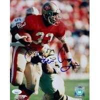 Roger Craig San Francisco 49ers Signed 8x10 Glossy Photo JSA Authenticated