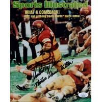 Anthony Davis USC Trojans Signed 8x10 Glossy Photo JSA Authenticated