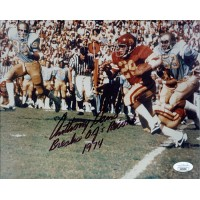 Anthony Davis USC Trojans Signed 8x10 Glossy Photo JSA Authenticated