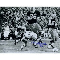 Boyd Dowler Green Bay Packers Signed 8x10 Matte Photo JSA Authenticated