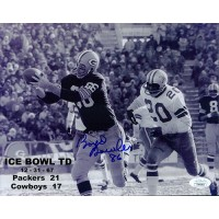 Boyd Dowler Green Bay Packers Signed 8x10 Glossy Photo JSA Authenticated