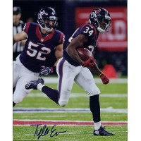 Tyler Ervin Houston Texans Signed 8x10 Glossy Photo PSA Authenticated