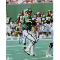 Boomer Esiason New York Jets Signed 8x10 Glossy Photo JSA Authenticated