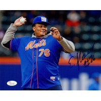 Ereck Flowers New York Giants Signed 8x10 Matte Photo JSA Authenticated