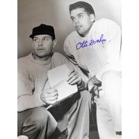 Otto Graham Cleveland Browns Signed NFL Matte 11x14 Photo JSA Authenticated