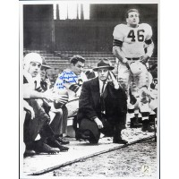 Dante Lavelli Cleveland Browns Signed 11x14 Photo JSA Authenticated HOF 1975