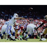 Andrew Luck Indianapolis Colts Signed 8x10 Matte Photo JSA Authenticated