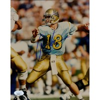 Cade McNown UCLA Bruins Signed 8x10 Glossy Photo JSA Authenticated