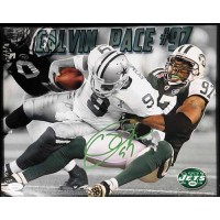 Calvin Pace New York Jets Signed 11x14 Matte Photo JSA Authenticated