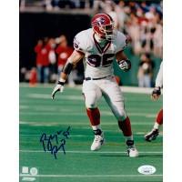 Bryce Paup Buffalo Bills Signed 8x10 Glossy Photo JSA Authenticated