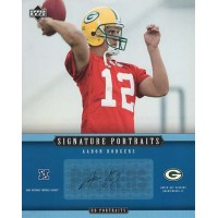 Aaron Rodgers Packers 2005 Upper Deck Signature Portraits 8x10 Photo #SP-65