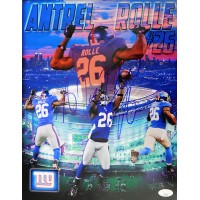 Antrel Rolle New York Giants Signed 11x14 Matte Photo JSA Authenticated