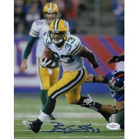 Brandon Saine Green Bay Packers Signed 8x10 Matte Photo JSA Authenticated