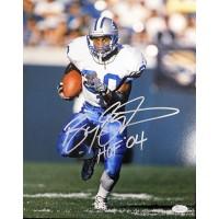 Barry Sanders Detroit Lions Signed 11x14 Matte Photo JSA Authenticated
