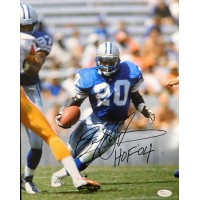 Barry Sanders Detroit Lions Signed 11x14 Matte Photo JSA Authenticated